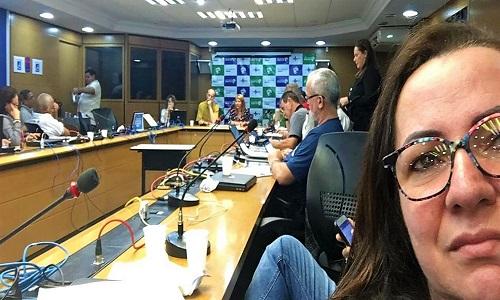 Representante da Fesmepar no  CES/PR, participa de reunião da Coordenação Nacional de Plenária dos Conselhos de Saúde