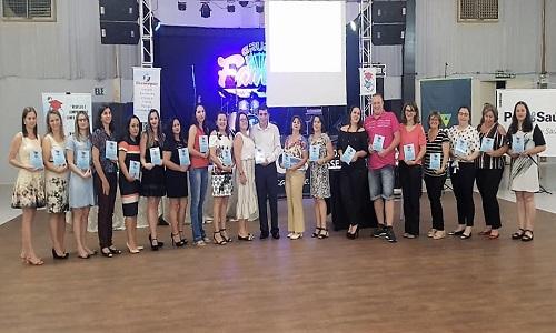 Fesmepar participa da cerimônia de posse da diretoria do Sindicato dos Professores de Dois Vizinhos