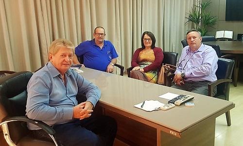 Cafelândia: Fesmepar e Sismucaf se reúnem em discussão administrativa com a prefeitura