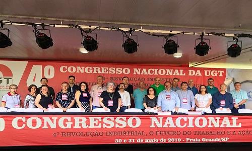 """Fesmepar marca presença no """"4º Congresso Nacional da UGT"""""""