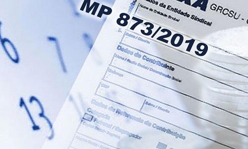 MP 873 que extingue a contribuição sindical em folha perde a validade