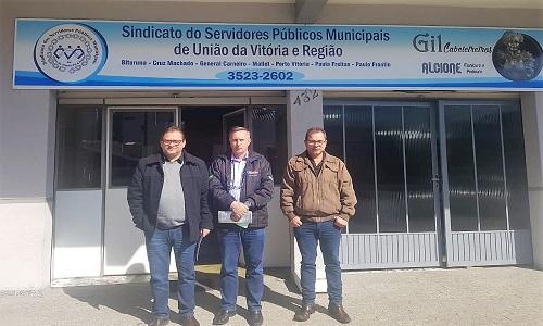Fesmepar faz visita administrativa e jurídica a sindicatos das Regiões Centro-Sul e Sudeste do Paraná