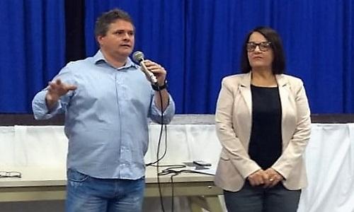 Diretora de finanças da Fesmepar participa da abertura do Curso de Formação Continuada, realizado pela prefeitura de Capitão Leônidas Marques