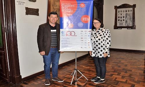 CENTENÁRIO DA OIT: Fesmepar participa das discussões em torno da liberdade sindical
