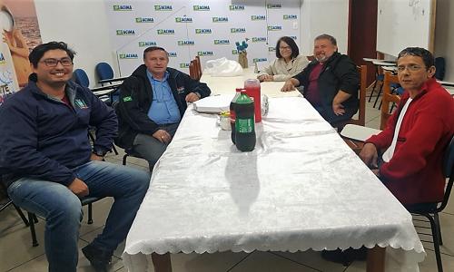 Matinhos: Fesmepar faz reunião administrativa com a diretoria do SISMMAT