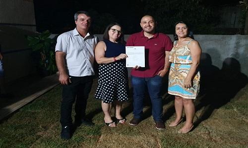 LUIZIANA: SISPULUZ inaugura sede própria e recebe a Certidão de Registro Sindical