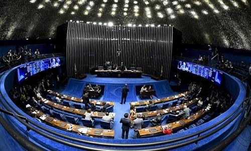 Projeto de 'reforma' da Previdência passa em primeiro turno no Senado