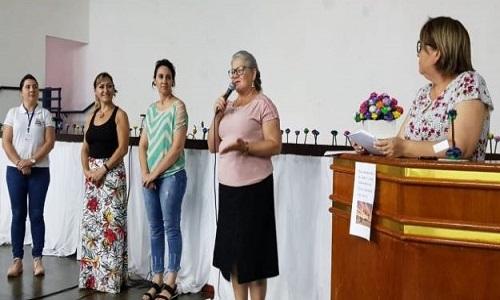 SISMUCAP MARCA PRESENÇA EM PALESTRA ALUSIVA AO DIA INTERNACIONAL PELA ELIMINAÇÃO DA VIOLÊNCIA CONTRA Á MULHER