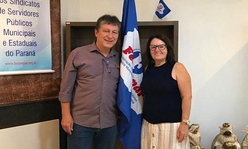 Fesmepar recebe visita do presidente do SISMUCAZ