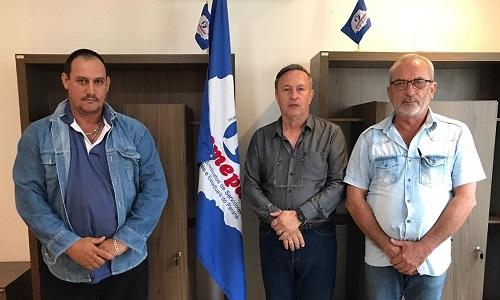 Presidente da Fesmepar recebe visita da diretoria do SISPUCO