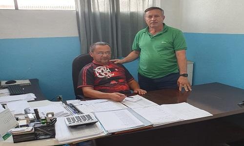 Presidente da Fesmepar faz visita administrativa ao sindicato de servidores de  Pato Branco
