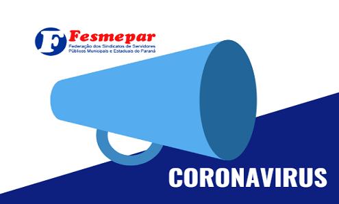 CORONAVÍRUS – HORA DA PREVENÇÃO