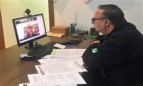 Presidente da Fesmepar debate o atual cenário sindical em videoconferência da UGT-Paraná