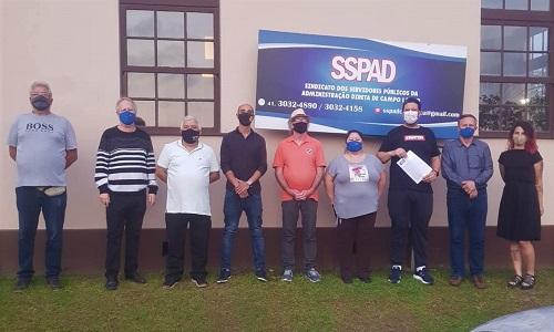 CAMPO LARGO: Diretoria do SSPAD é reeleita por aclamação