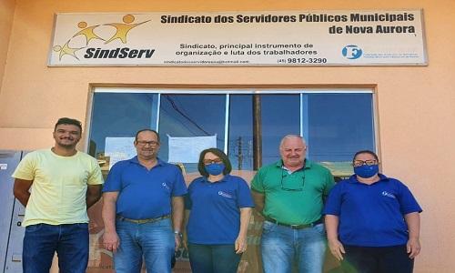 Servidores municipais elegem nova diretoria do SINDSERV Nova Aurora