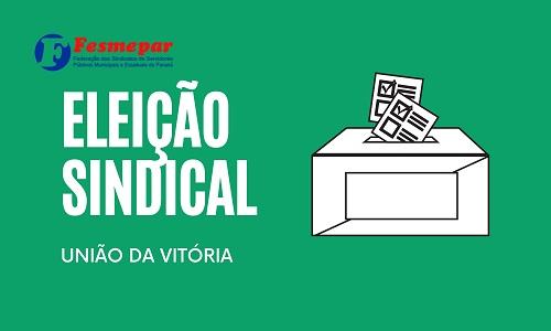 Diretoria do Sindserv União da Vitória é reeleita com mais de 94% de aprovação