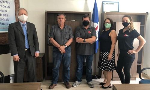 Fesmepar recebe visita administrativa da Sindicatos Online