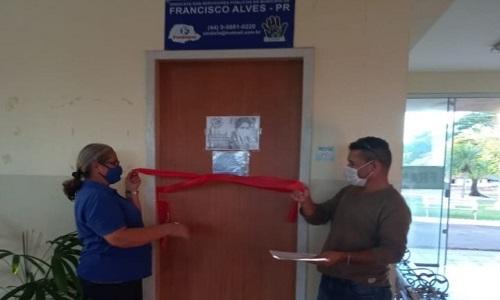 FRANCISCO ALVES: SINDISFA inaugura nova sede