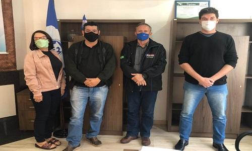 ALTO PARANÁ: Fesmepar recebe visita do presidente do SSPMAP