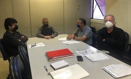 Em reunião no Núcleo de Relações do Trabalho, Fesmepar aborda a importância da atualização  cadastral dos sindicatos de servidores