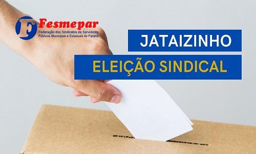 Jataizinho: Servidores municipais reelegem Anderson da Motta como presidente do Sindserv