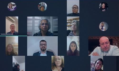 Fesmepar participa de videoconferência com representantes de entidades estaduais em apoio à vacina contra a Covid-19, desenvolvida pela UFPR