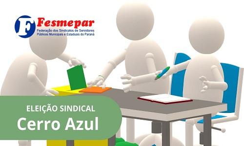 CERRO AZUL: Diretoria do SISMUCAZ é reeleita com mais de 96% de aprovação