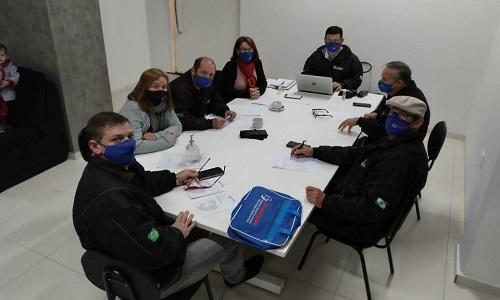 Diretoria Executiva da Fesmepar se reúne em Cascavel