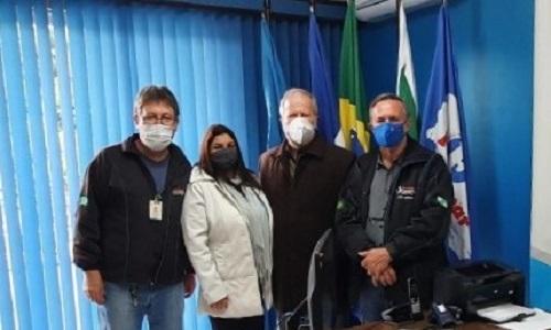CERRO AZUL: Fesmepar faz visita administrativa ao SISMUCAZ