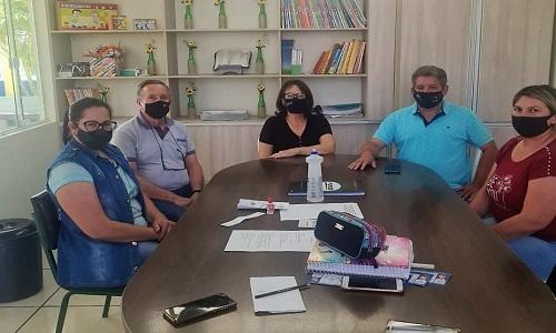 NOVA PRATA DO IGUAÇU: Presidente da Fesmepar faz reunião administrativa com a diretoria do SINDPRATA