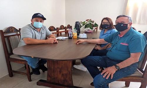 PINHÃO: Diretores da Fesmepar se reúnem com presidente do SIFUMPI