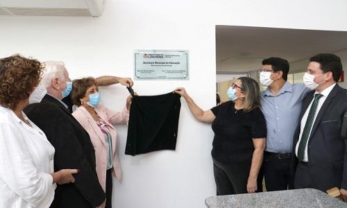 Londrina: Nova sede da Secretaria Municipal de Educação é inaugurada e como homenagem e reconhecimento, leva o nome de Marcelo Urbaneja
